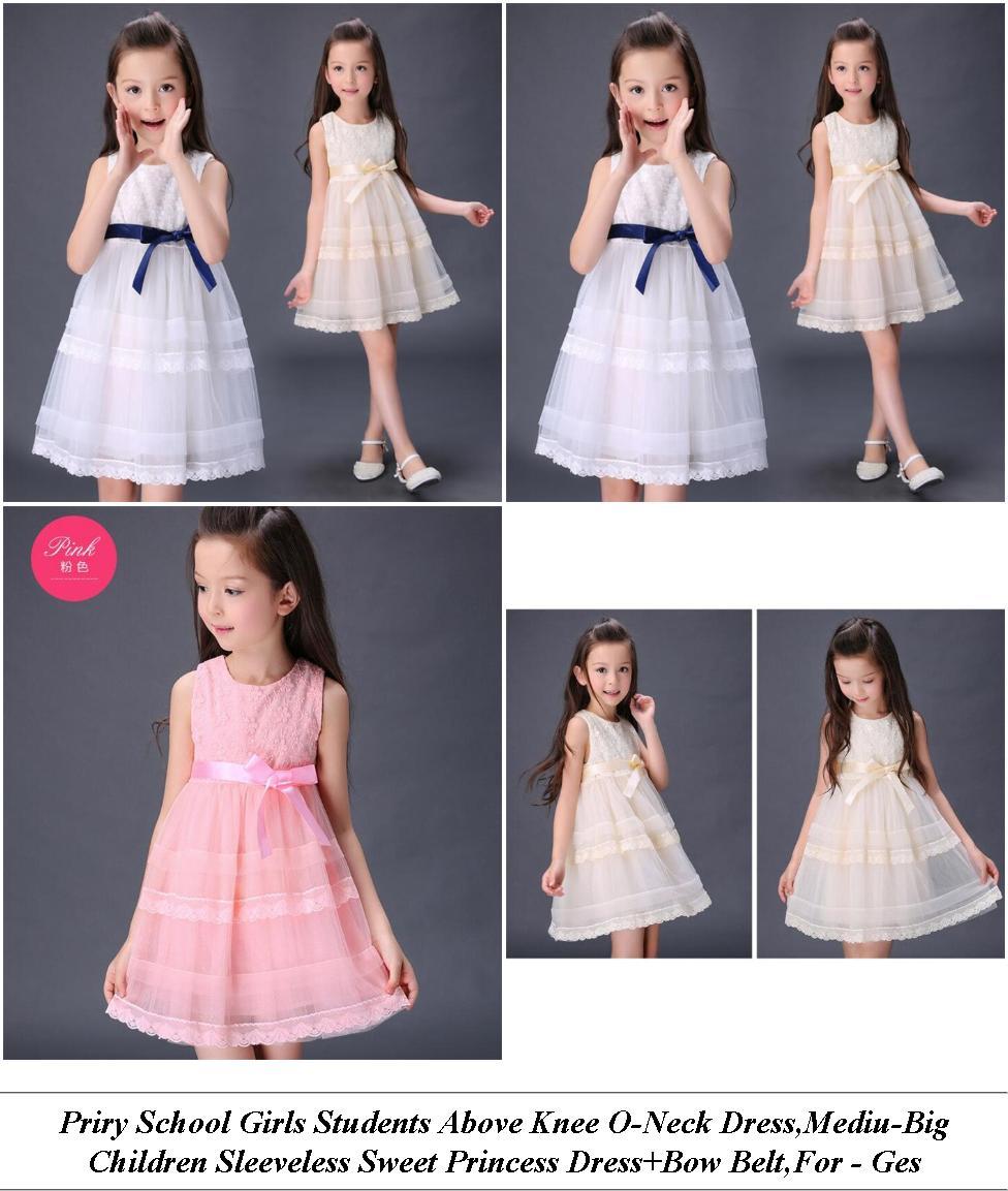 Flower Girl Dresses - For Sale Shop - Pink Dress - Cheap Designer Clothes