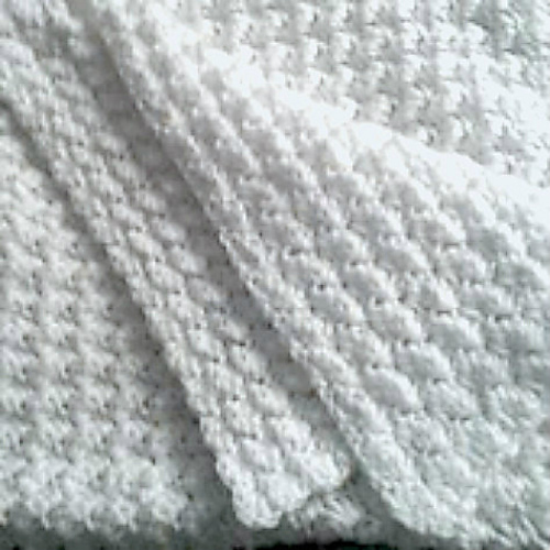 Easy Stitch for Baby Blanket
