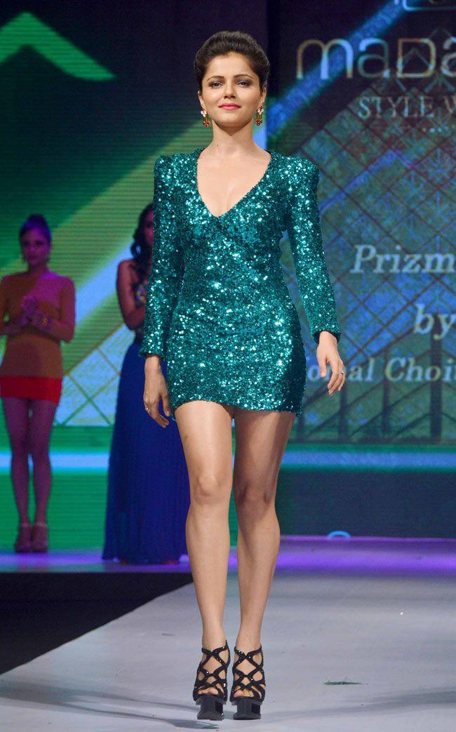 Actress Rubina Dilaik Gorgeous Spicy Stills