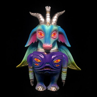 Baphomaniac Enchanted Evil Edition Vinyl Figure by Martin Ontiveros x Toy Art Gallery