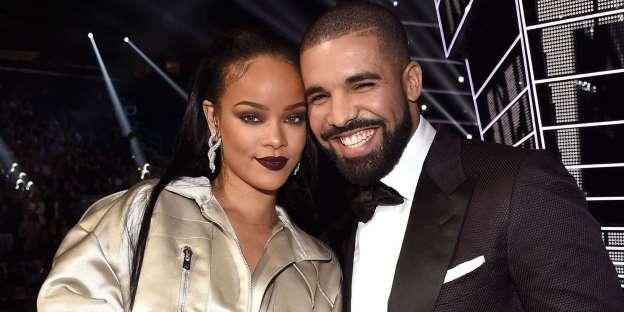 Rihanna and Drake Awkwardly Reunite at a Children's Party