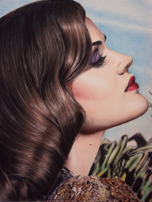 15-Lucy-Hale-Valentina-Zou-Pencils-and-Charcoal-Hyper-Realistic-Drawings-www-designstack-co