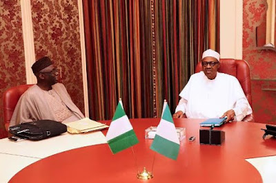 'Tunde is a man whose counsel I greatly respect'- President Buhari gushes over Pastor Tunde Bakare's visit to Aso Rock (photos)