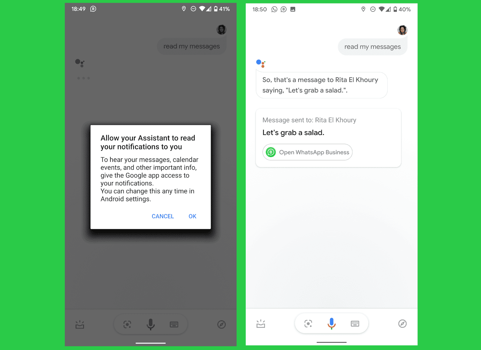 Annoyed by Google Assistant's limitation to read-only SMS texts? Not