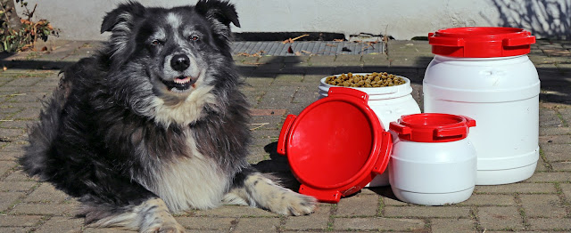 Futtertonne für Hundefutter