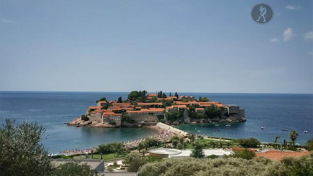 Muntenegru: Insula Sveti Stefan