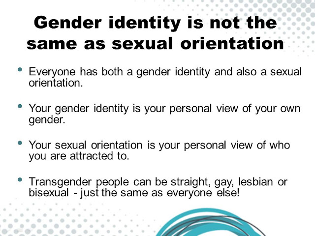 Transgender vs sexual orientation