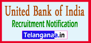 United Bank of India Recruitment Notification 2017 Last Date 31-05-2017