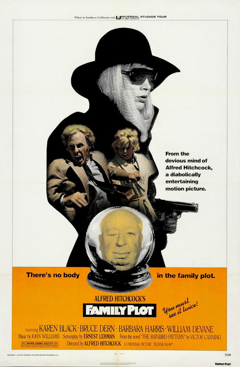 family plot 1976 poster