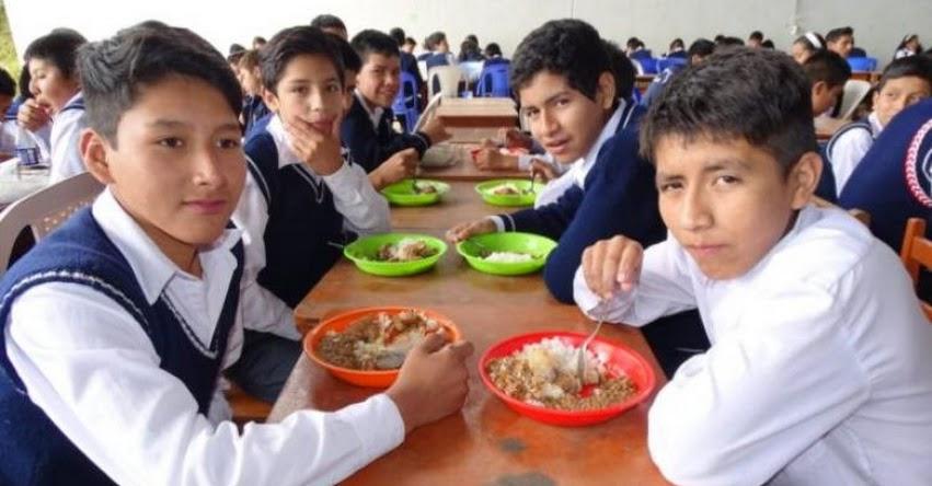 QALI WARMA: Programa social atiende con desayunos y almuerzos a más de 17 mil escolares de secundaria en Piura - www.qaliwarma.gob.pe