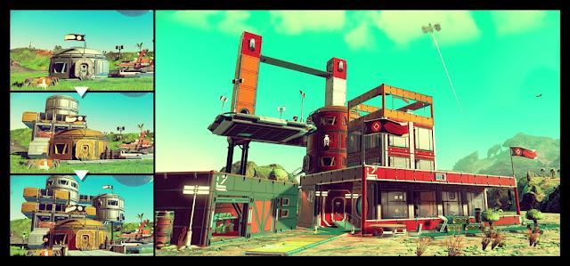 No Man's Sky Base-Building