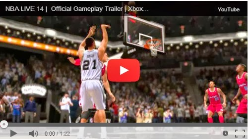 NBA LIVE 14 Official Gameplay Trailer (Next-gen only)
