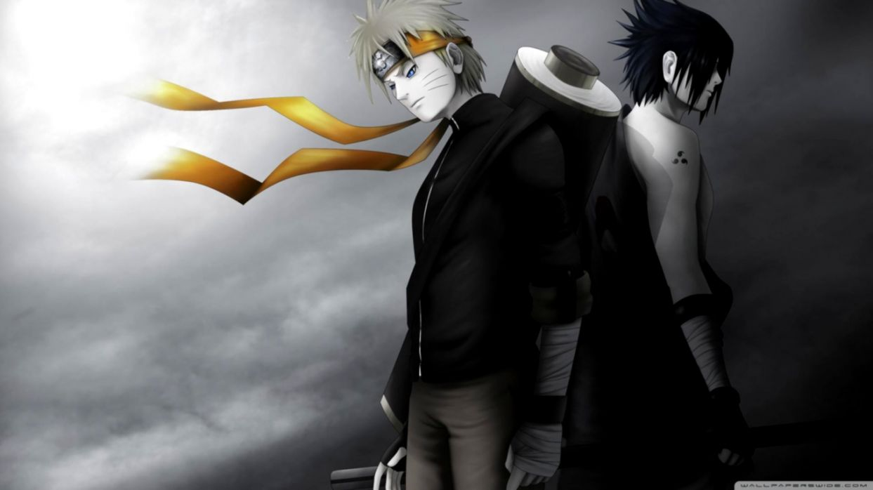 Wallpaper Hd 1080p Black And White Naruto Sasuke Erasedblog
