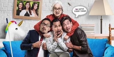 film indonesia berjudul 3 dara 2 bercerita tentang kehidupan keluarga yang penuh suka duka