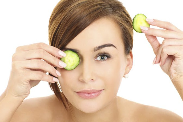 cucumber for glowing and healthy skin