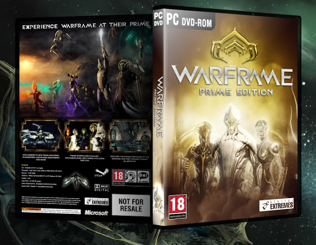 Capa Warframe Prime Edition PC