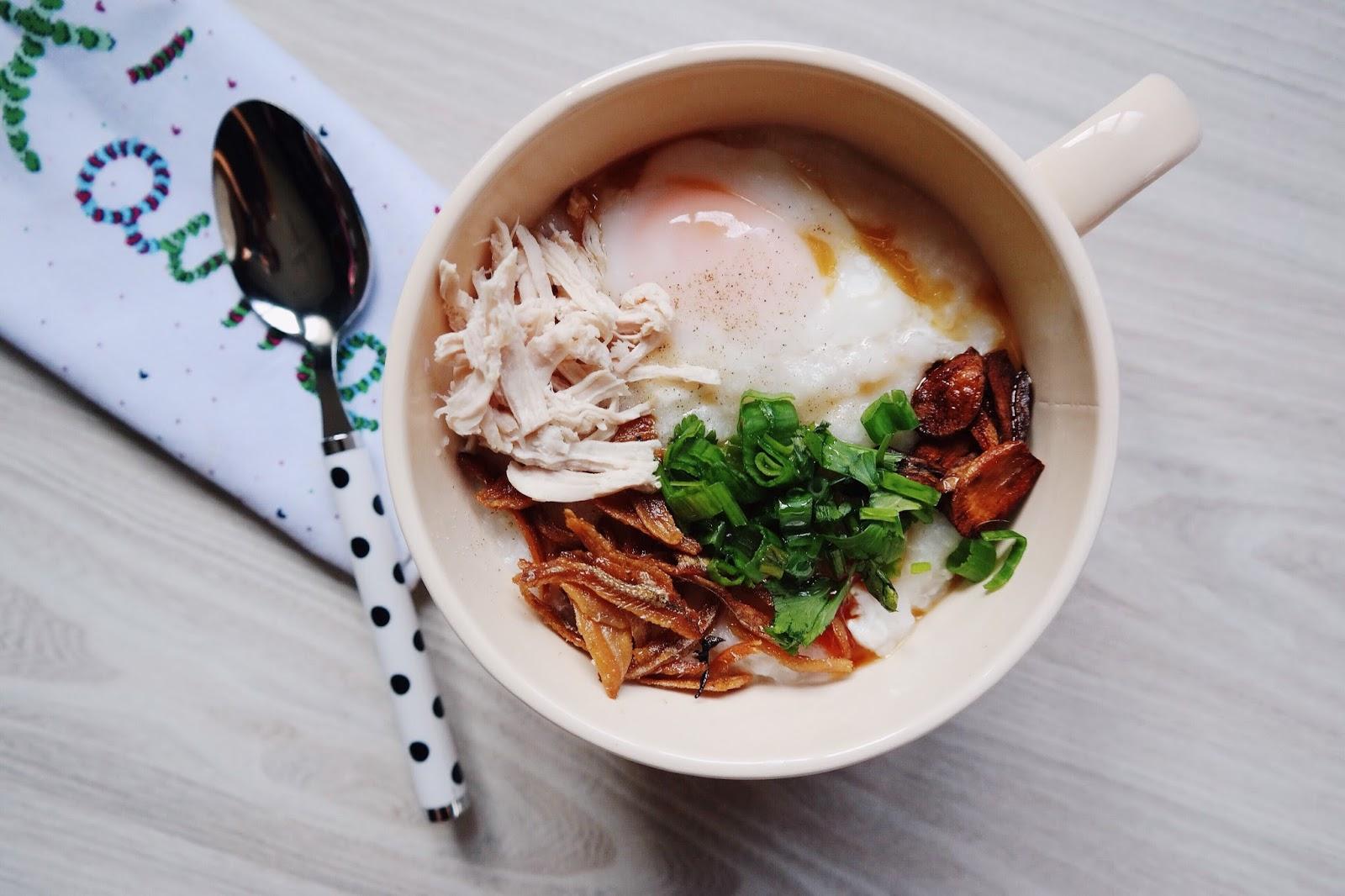 Easy Chicken Rice Porridge Recipe // Resepi Bubur Nasi Ayam Senang — The Good Weekender Blog