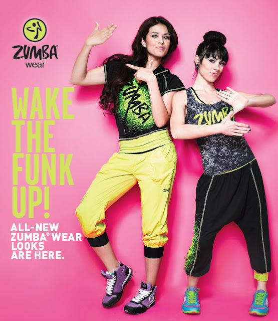 Zumba With Elena New Zumbawear Summer 2013 Collection