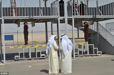 Double execution by hanging in Kuwait in June 2013