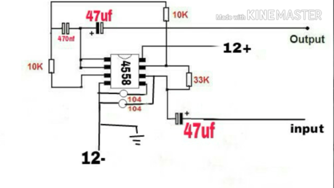 subwoofer filter board making very simple circuit