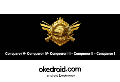 Pangkat Rank Conqueror PUBG Mobile