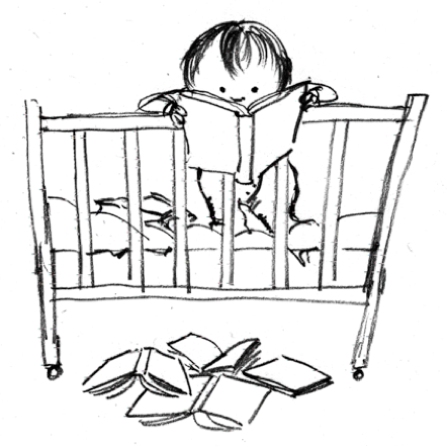 The Baby Who Could Read Was Based On My Daughter Used To Sit Up In Bed Reading Aloud Herself Except She Couldnt Talk Yet