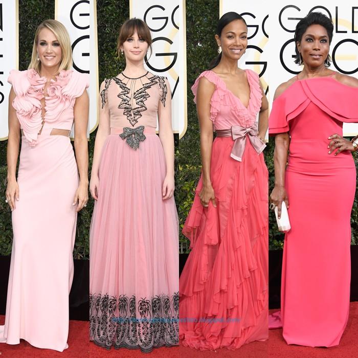 Golden Globes 2017: vestidos y más - Dos mujeres y un vestido