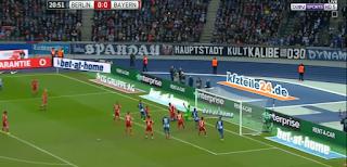 اهداف مباراة بايرن ميونخ وهيرتا برلين 1- 1 السبت  18-02-2017 الدوري الالماني