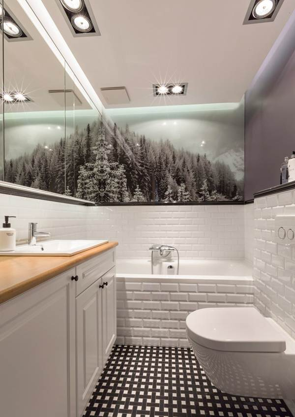 Decorate The Bathroom Walls 8