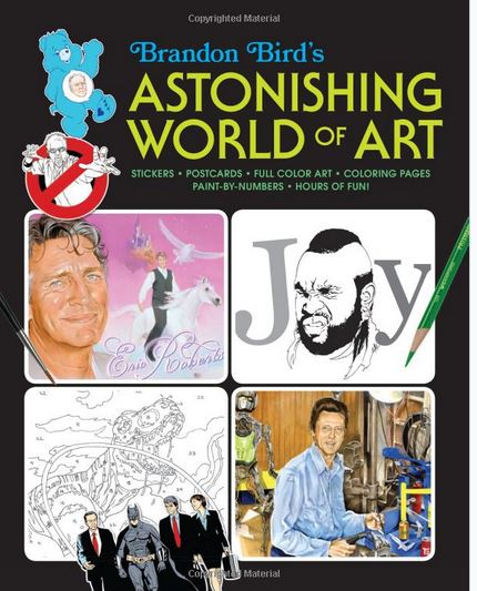 Astonishing Pop Art Coloring Book