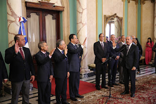 Presidente Danilo Medina juramenta a nuevos funcionarios designados mediante decreto 71-19