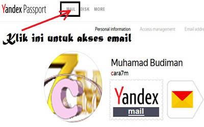 cara terbaru mendaftar membuat email yandex - cara7m