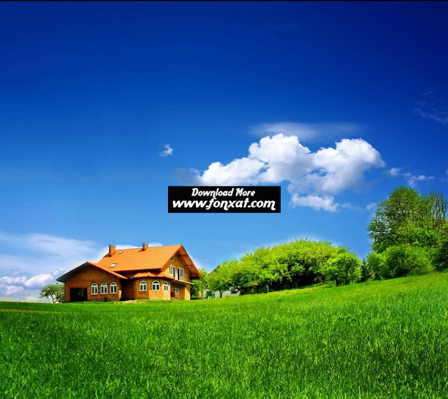 hd wallpapers : Houses in Summer
