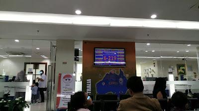 Ruang Tunggu Kantor Imigrasi Kelas 1 Khusus Jakarta Selatan