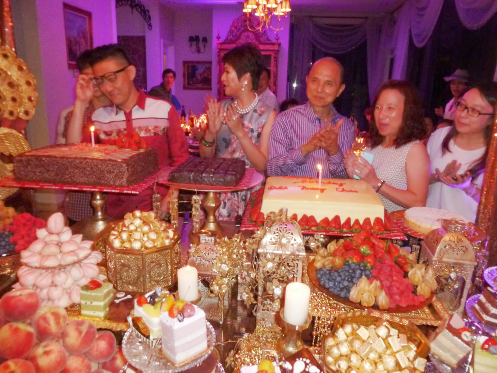 Kee hua chee live!: winnie sin hosts birthday party for hubby sin ...