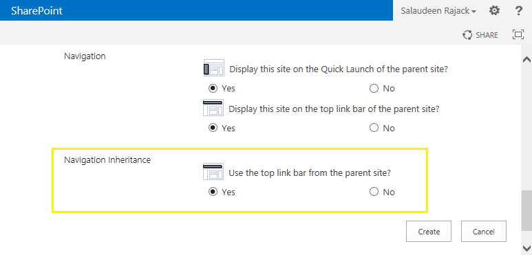 edit links sharepoint 2013 missing