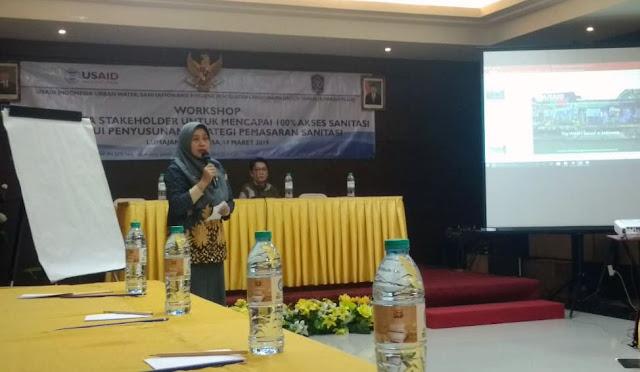 Workshop Peran Serta Stakeholder untuk Mencapai 100 Persen Akses Sanitasi