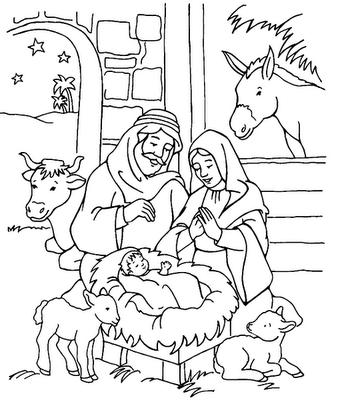 17 Desenhos Bíblicos Para Imprimir e Colorir