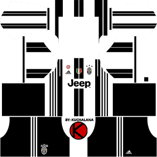 Juventus Kits 2016/2017 - Dream League Soccer 2017 & FTS15
