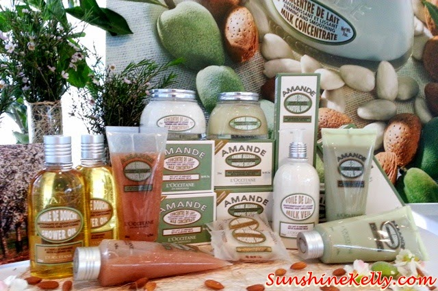 Review: L'OCCITANE Almond Body Care, Redefine Your Curves, L'OCCITANE Almond Body Care, L'OCCITANE, firming, slimming, body care, almond collection,