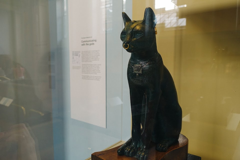 ゲイヤー・アンダーソンの猫像(The secred representation of the goddess Bastet)