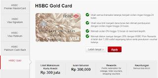 Cari Tahu Apa Saja Kelebihan Kartu Kredit HSBC