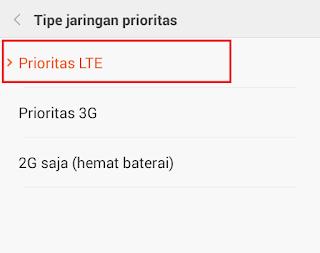 Mengaktifkan Jaringan 4G di Smartphone Android