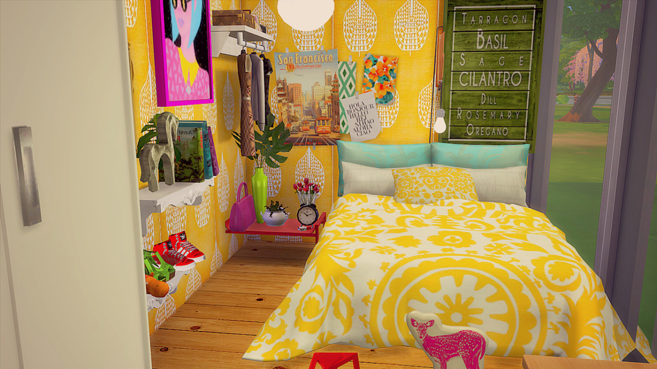 my sims 4 blog  colorful madness house by simsberrylis
