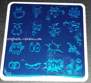 Review-MoYou-Nails-423-Stamping-Plate