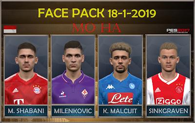 PES 2017 Facepack 18-1-2019 by Mo Ha