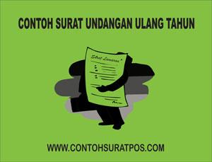 Gambar untuk Contoh Surat Undangan Ulang Tahun Anak