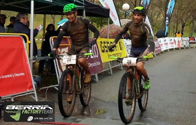 Las Berria dominan la Vuelta a Córdoba