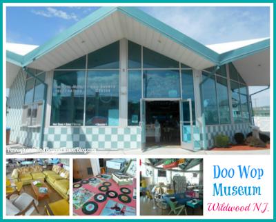 The Doo Wop Preservation Museum in Wildwood in New Jersey