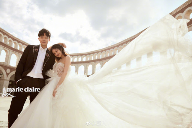 Fu Xin Bo and Ying Er wedding photoshoot